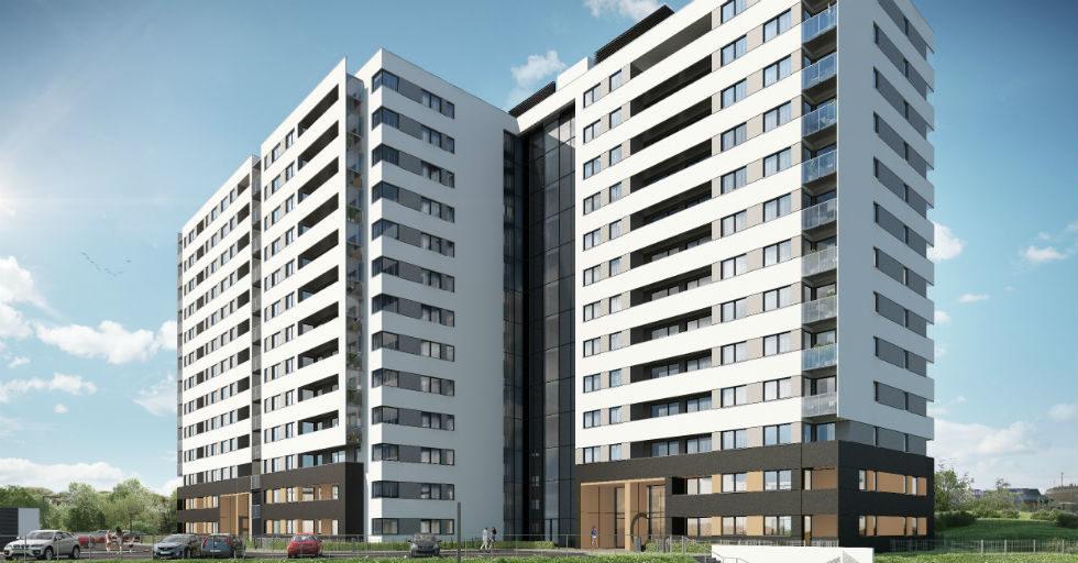 KB DOM generalnym wykonawcą osiedla Studio Morena w Gdańsku