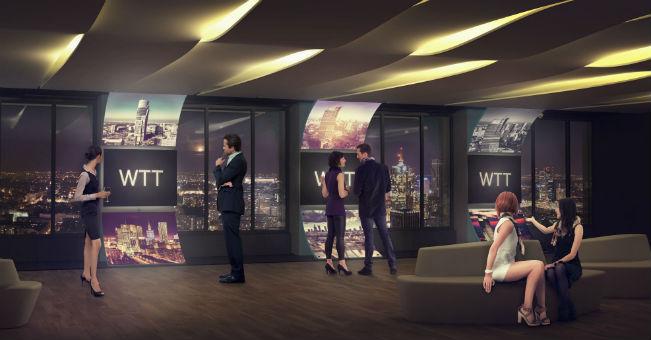35 piętro Warsaw Trade Tower – we wrześniu otwarcie