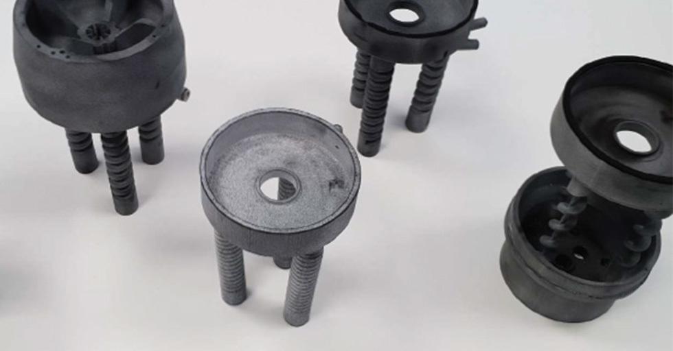 Obudowa panelu sterowania wydrukowana wHP MJF 3D