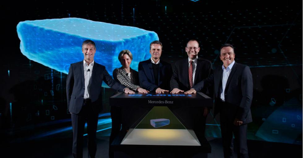 """Megatechnologiczna """"Fabryka 56"""" Daimlera rozpocznie produkcję w 2020"""