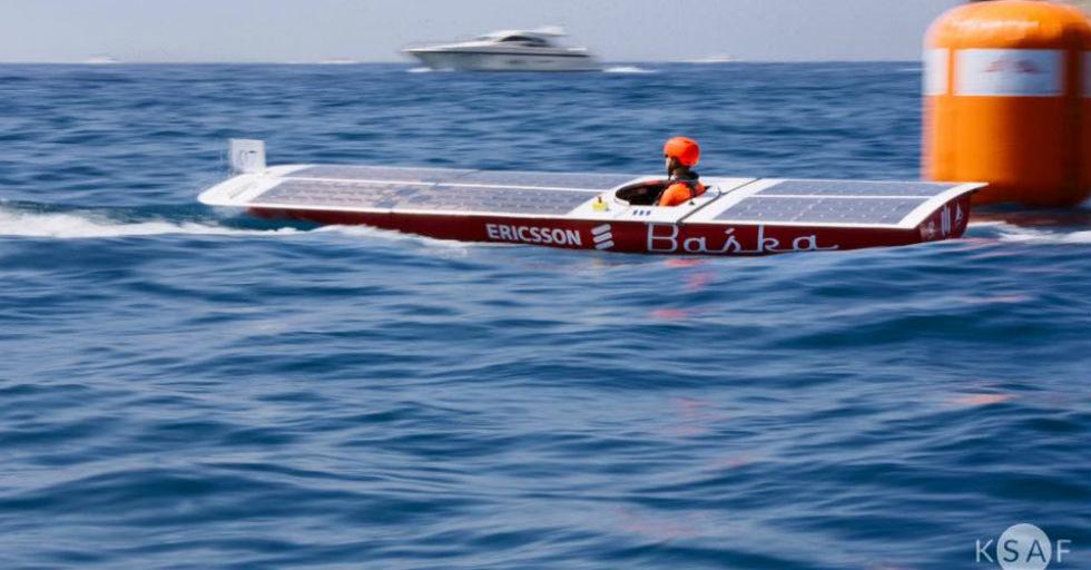 AGH Solar Boat: fotowoltaiczna Baśka piąta w Monako