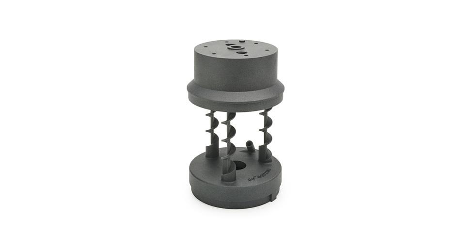 Ruchoma część sita wydrukowana wtechnologii HP Jet Fusion 3D zmateriału PA 12