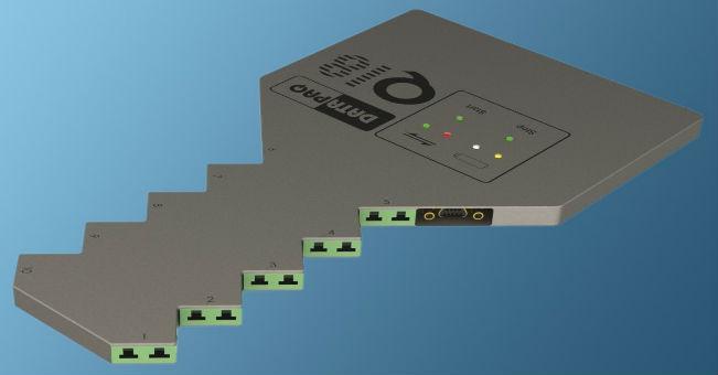 10-kanałowy rejestrator temperatury do pieców do odpuszczania szkła