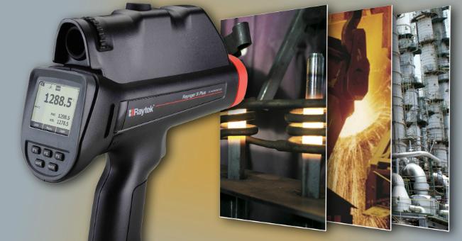 Raytec – ręczny pirometr Raynger 3i Plus do aplikacji wysokotemperaturowych