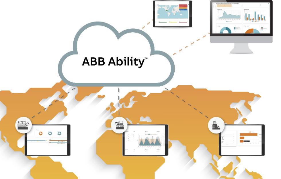 Aplikacja chmurowa B&Rjest oparta na platformie ABB Ability -ujednoliconej, międzybranżowej ofercie cyfrowej autorstwa firmy ABB, macierzystej spółki B&R