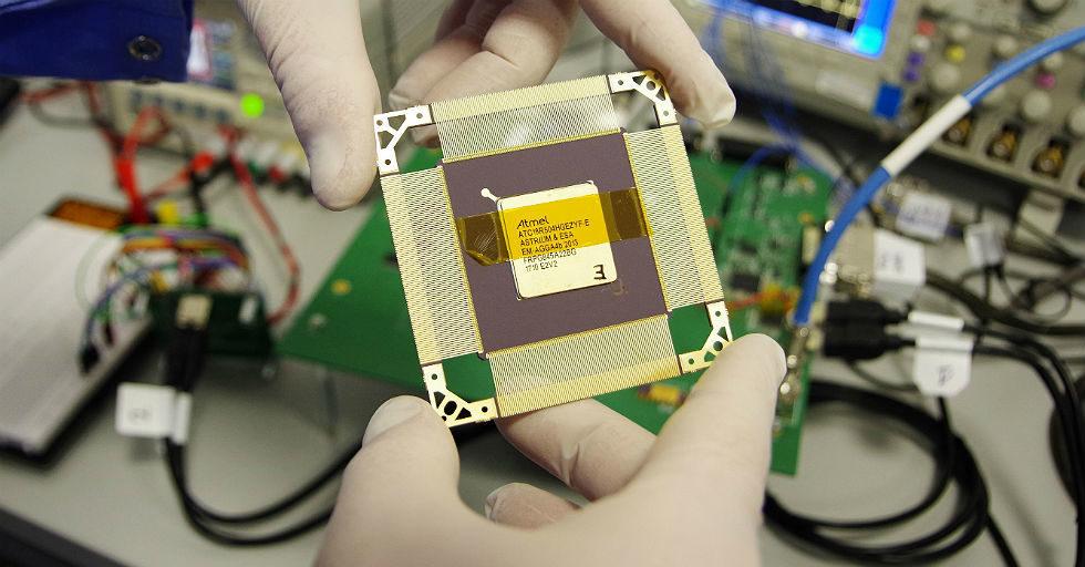 Inżynierowie Astri Polska testują zaawansowany układ scalony dla ESA