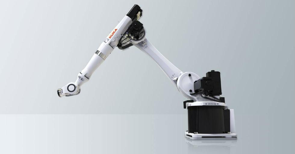 Robot przemysłowy KUKA odbiera nagrodę RedDot Award 2017