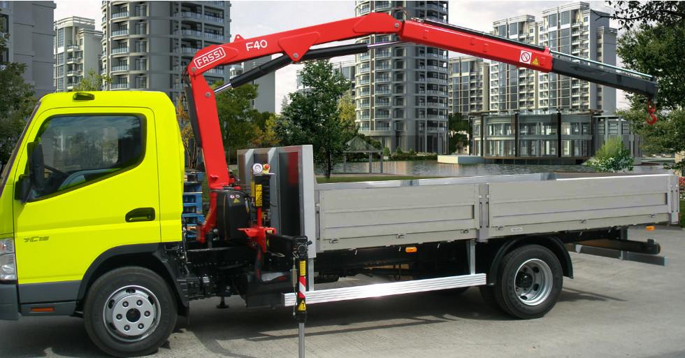 FASSI F40B – żuraw na wyposażeniu pojazdów