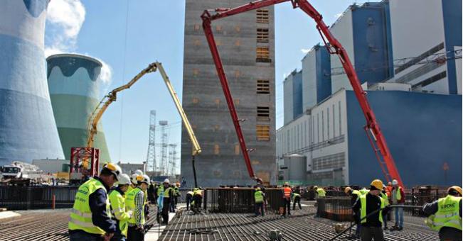 Mostostal Warszawa rozpoczął betonowanie fundamentu bloków energetycznych w Opolu