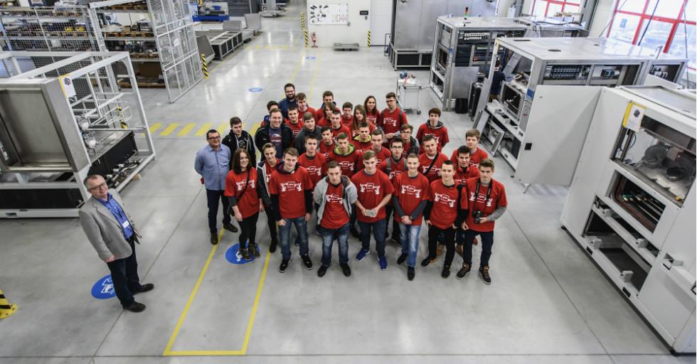 GT85 Polska wspiera młodzież startującą w First Robotics Competition