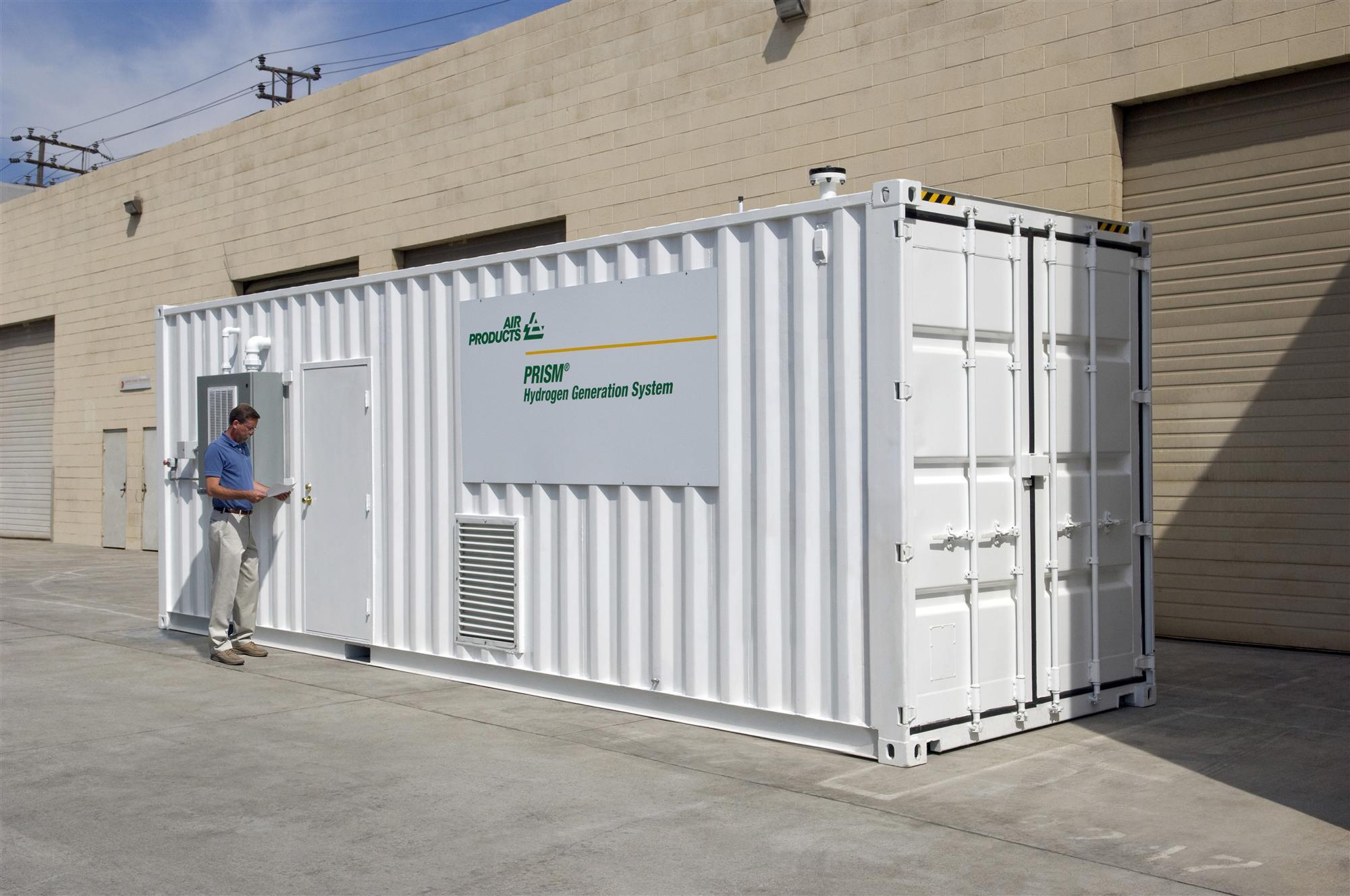 Air Products rozszerza ofertę generatorów wodoru PRISM®, zwiększając zakres produkcji gazu na miejscu u klienta