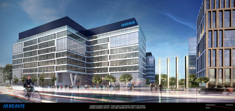 Do 2016 roku powstaną dwa budynki Gdański Business Center