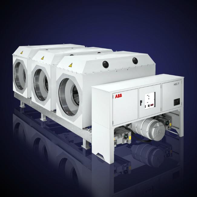 Wyłączniki generatorowe typu HEC 7A /prąd znamionowy 25 500 A, wyłączalny prąd zwarciowy 170 kA, napięcie 28,35 kV