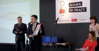 """Dow laureatem ogólnopolskiego konkursu """"Mama w pracy"""""""