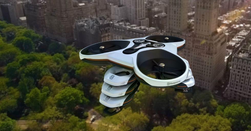 Koncepcyjny projekt Husqvarna dla parków miejskich przyszłości