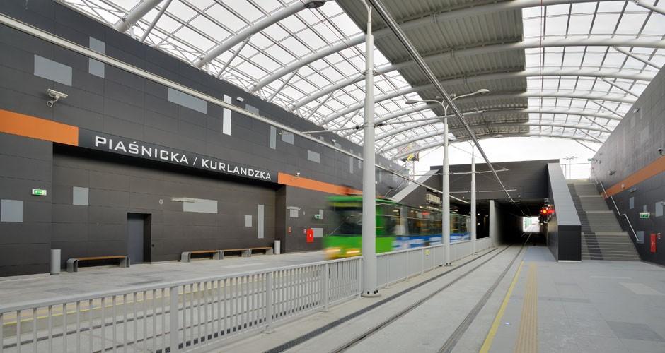 Fot. Grupa ZUE /Linia tramwajowa na Franowie wPoznaniu