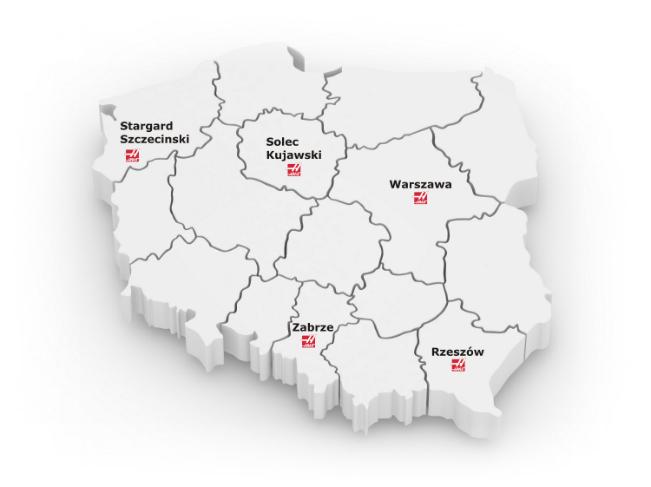 Mapa HFO