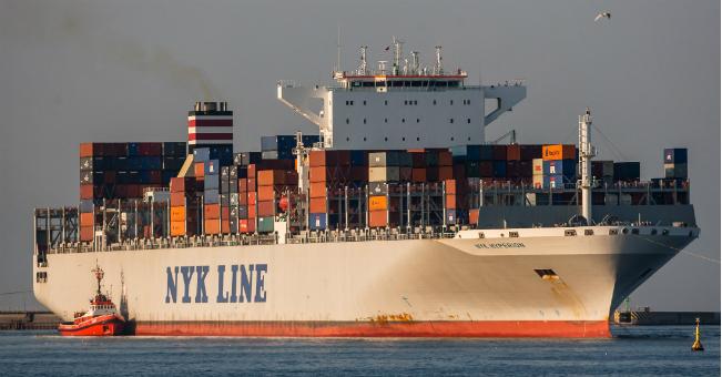 Pierwsza wizyta kontenerowca NYK Line w Polsce