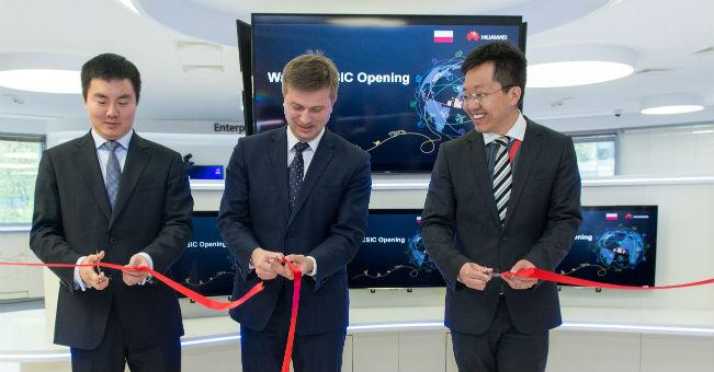 W Warszawie otwarto Centrum Innowacji Huawei