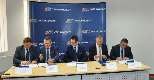 Podpisanie listu intencyjnego Wspólny projekt badawczo-rozwojowy PKP Intercity iPESA Bydgoszcz