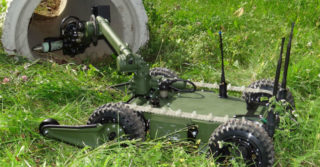 Roboty Balsa z kamerami Creotechu trafiają do polskiej armii