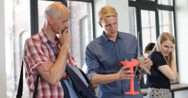 Sebastian Dziomdziora -Prototyp mikroturbiny wiatrowej wydrukowanej wtechnologii 3D