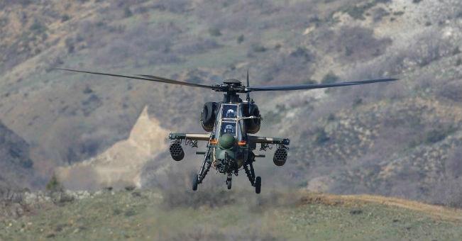 Polskie pokazy tureckiego helikoptera