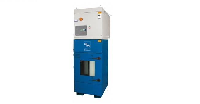 Filtercube 2N 3,0 kW, pow. robocza filtrów 2x7,8 m2, przeznaczony do odciągu ifiltracji pyłu grafitowego