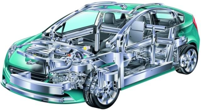 Generic Sedan automotive parts