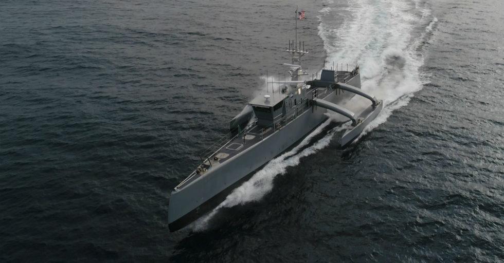 ACTUV autonomiczny statek bezzałogowy w operacjach morskich USA