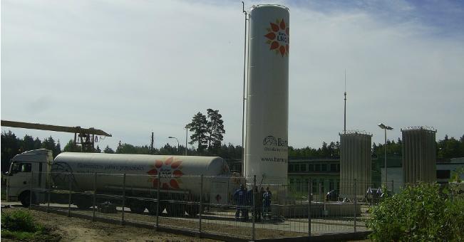 Barter SA uruchomił stację regazyfikacji ciekłego gazu ziemnego LNG
