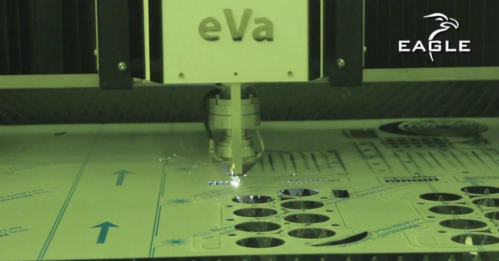 Wycinarki laserowe EAGLE z głowicą eVa 12 kW