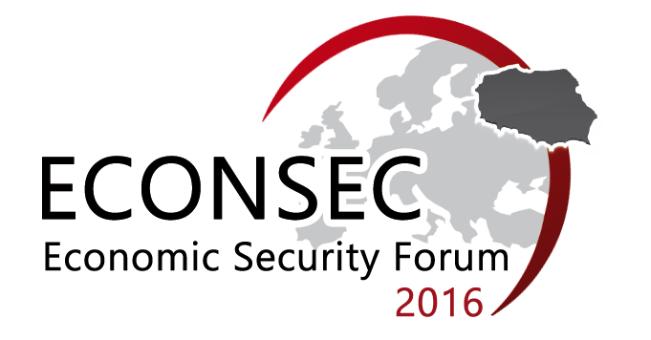 Economic Security Forum ECONSEC 2016