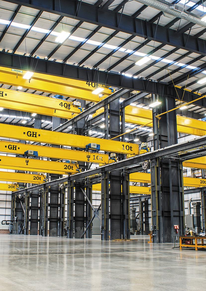 GH Cranes: idealnie dopasowane urządzenia do przenoszenia ciężarów
