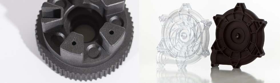 Część wydrukowana wHP MJF 3D vs. elementy drukowane wSLS