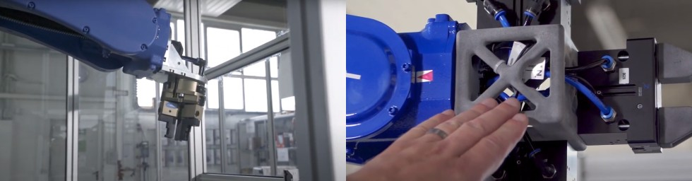Wielofunkcyjny chwytak zoptymalizowany wtechnologii HP MJF 3D