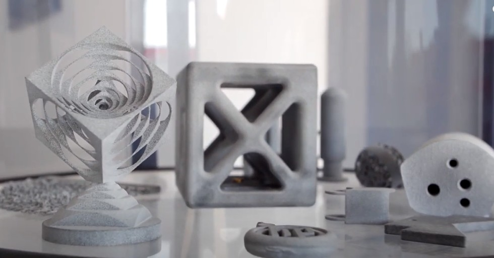 Elementy linii produkcyjnych CNC Würfel wytwarzane addytywnie
