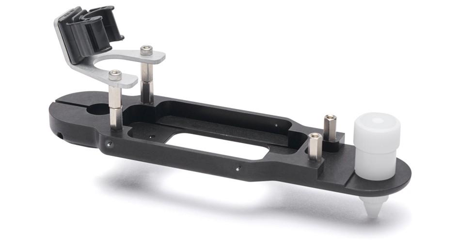 Ramię próbnika drukowane za pomocą HP JF 4200 3D zzastosowaniem materiału HP 3D HR PA 12