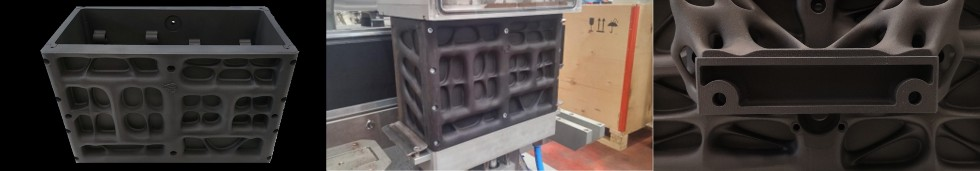 Komponent do pakowania próżniowego kawy, wydrukowany wtechnologii HP MJF 3D