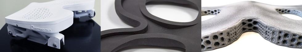 Siedzisko iwózek Sary Bertolasi wydrukowane wHP MJF 3D