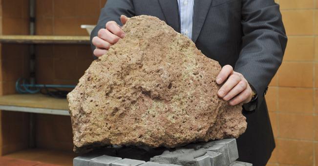 Sztuczny kamień naukowców z Wydziału Mechanicznego
