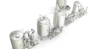 Kompaktowe warzenie dla małych i średnich browarów