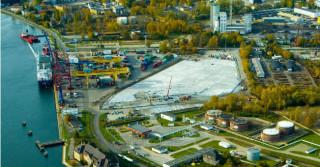 STRABAG rozbudował terminal w Porcie Gdańsk