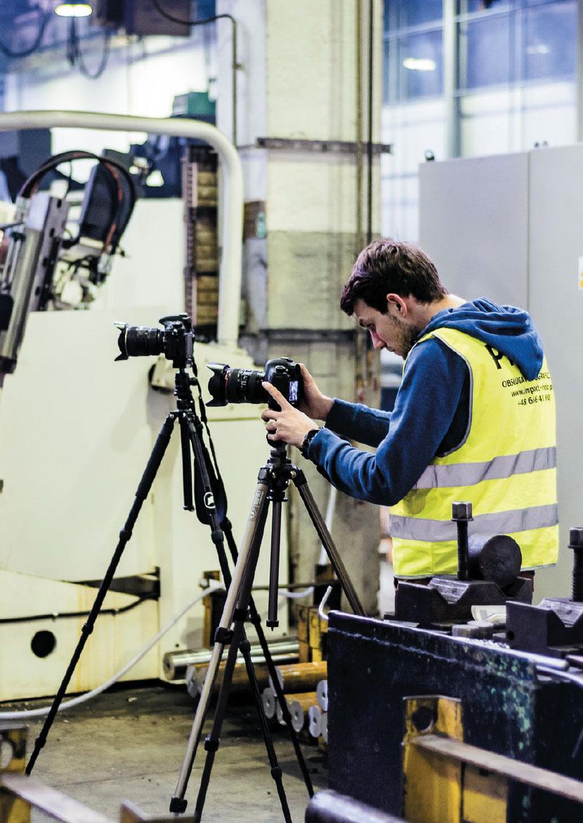 Impact-Photo: zdjęcia, które pokazują więcej niż kawałek maszyny
