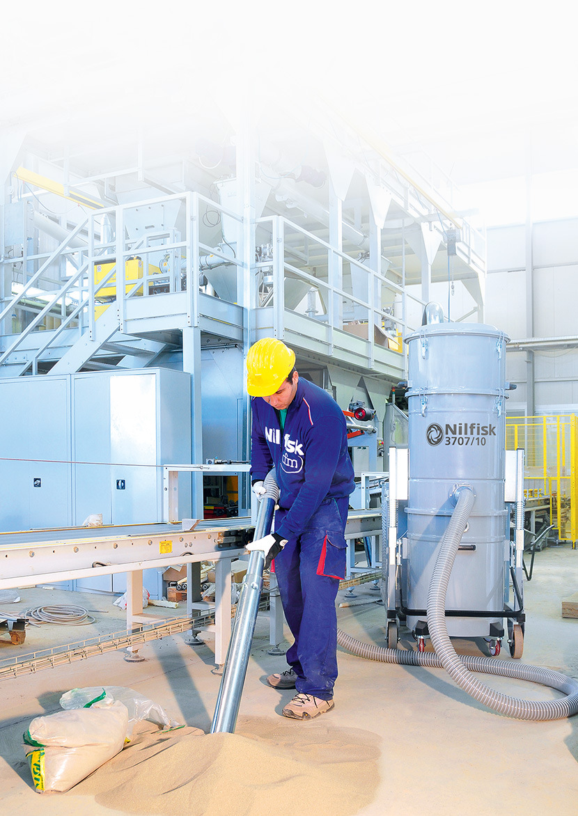 Odkurzacze przemysłowe Nilfisk - rozwiązania dla każdej branży