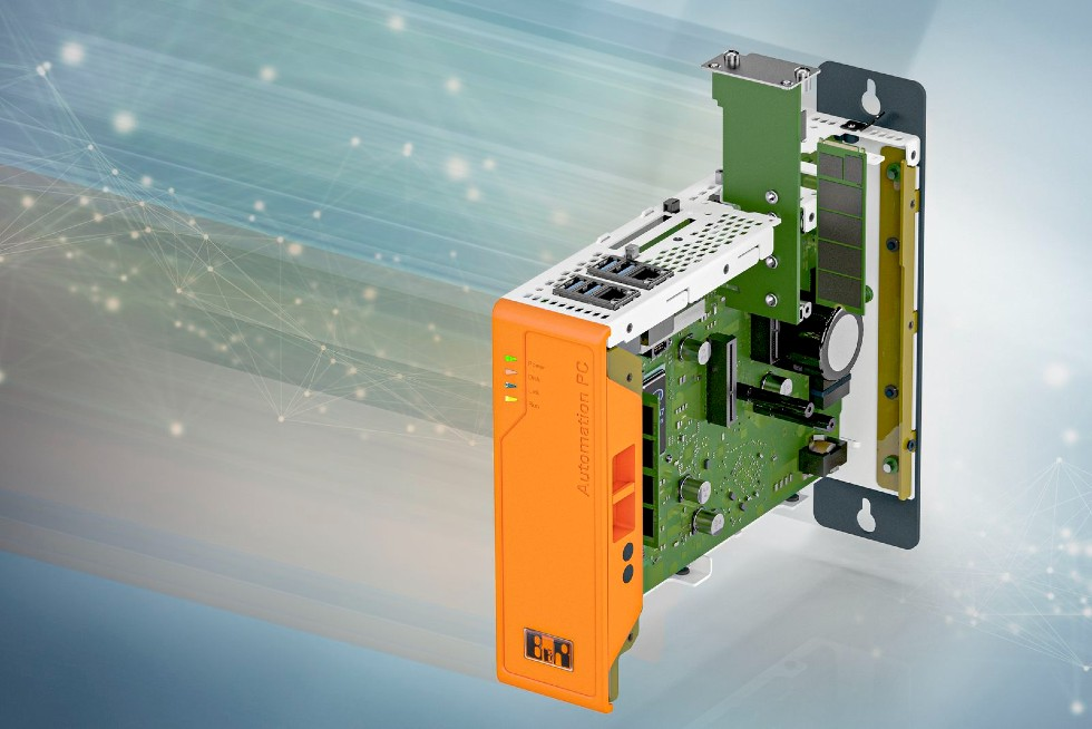Komputer Automation PC 3100 można opcjonalnie wyposażyć wmoduł pamięci M.2.
