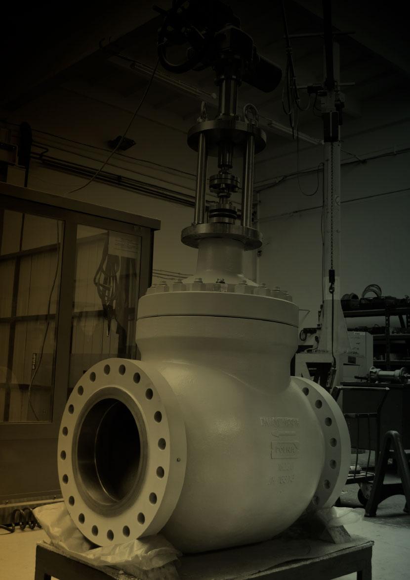 POLNA SA: zawory regulacyjne dla energetyki