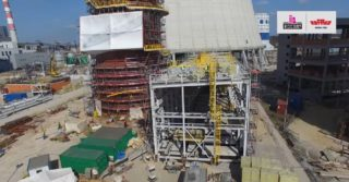 RAFAKO: raport roczny z budowy bloku 910 MW w Jaworznie
