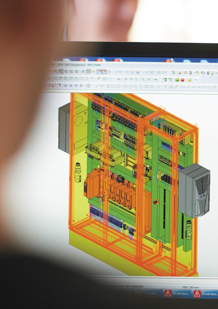 Efektywność w produkcji urządzeń sterowniczych i rozdzielczych Rittal: Wszystko zależy od danych