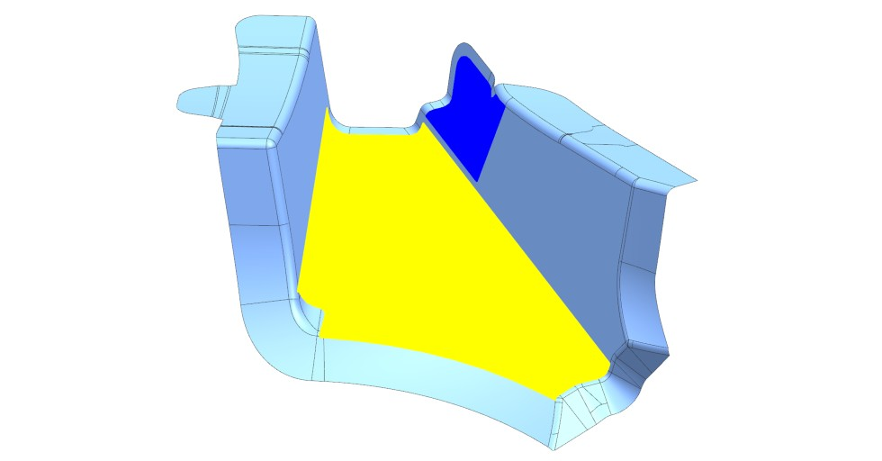 Rysunek 4: Przykładowe warstwy stworzone przy pomocy metodyki Ply Based Design